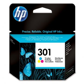 Genuine HP301 Colour Ink cartridge CH562EE